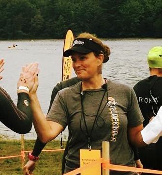 Rachel Martin of Pumpkinman Triathlon Festival