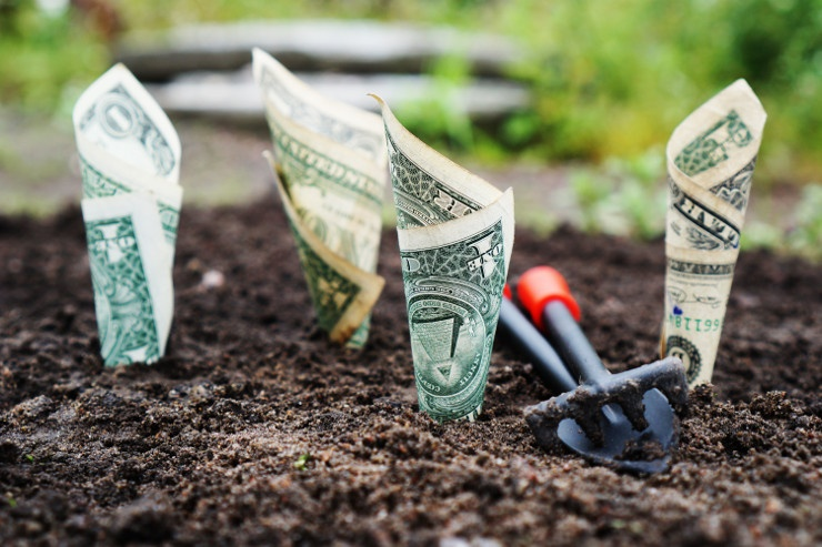 Customer retention is like planting dollar bills in the ground