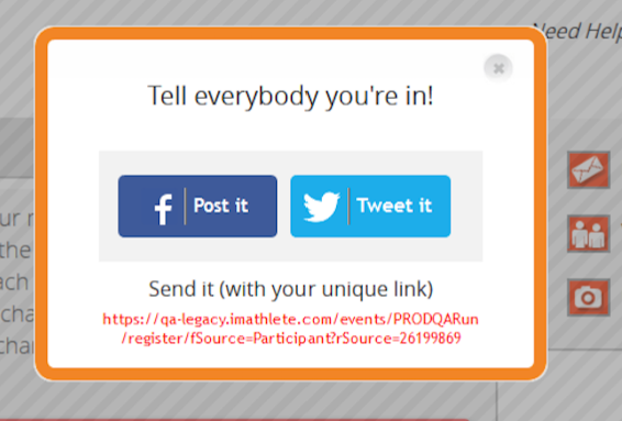 Social Sharing Popup Enhanced
