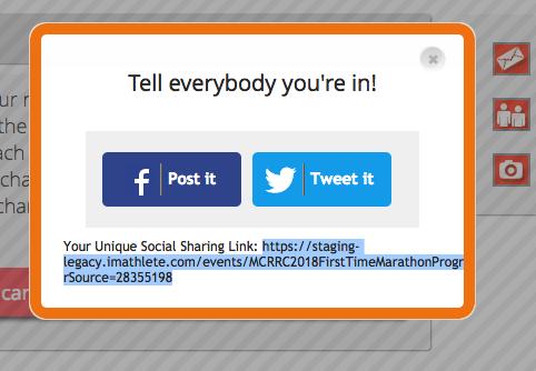 Social Sharing Popup Original