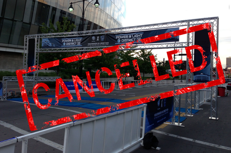 cancelled race start