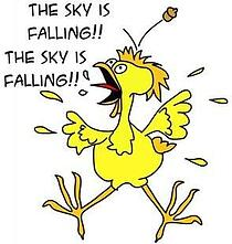 chicken little sky falling