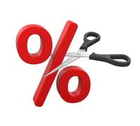 cut percentage