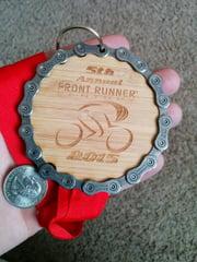 front runner medal