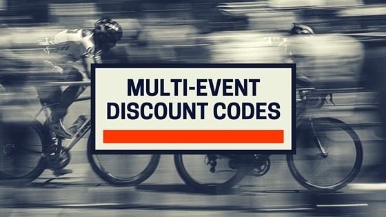 Multi-Event Discount Codes