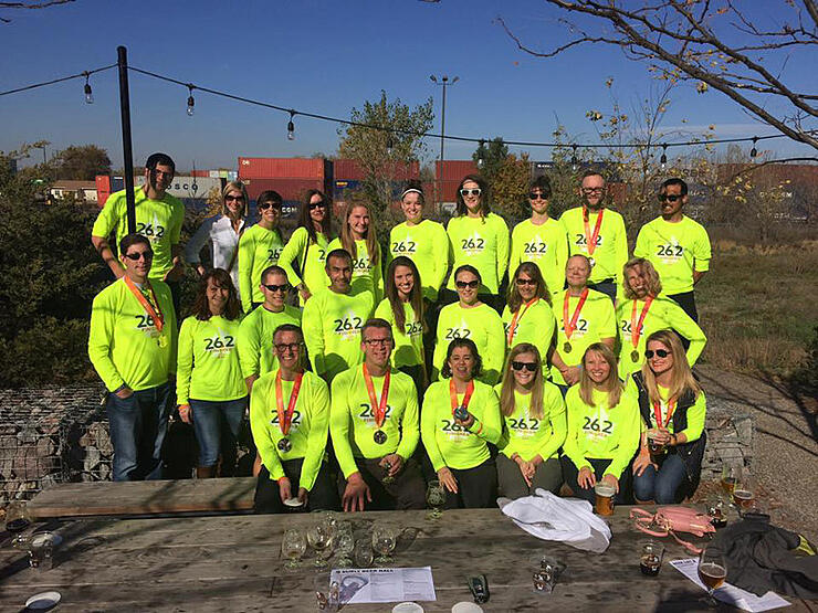 Twin Cities In Motion First Time Marathoners Class of 2016