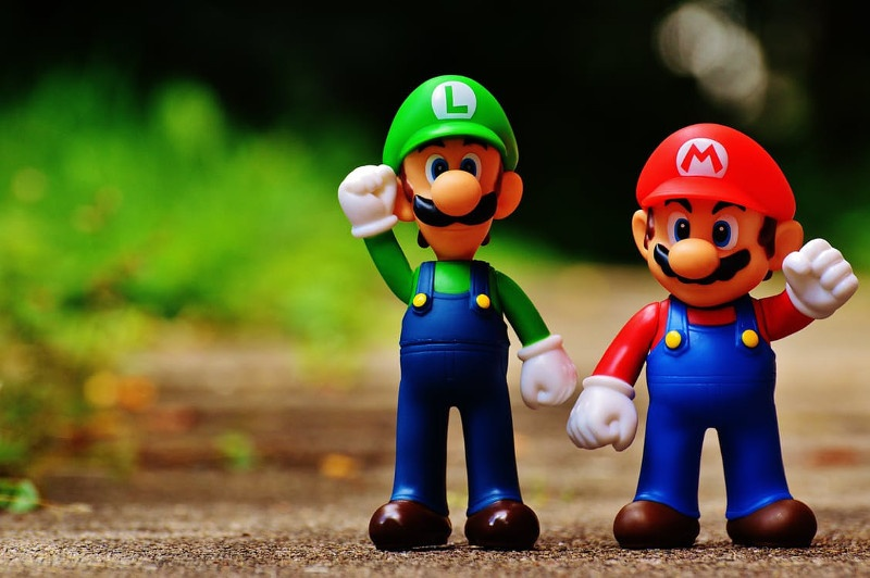 Mario and Luigi would sign up for a race together, right?