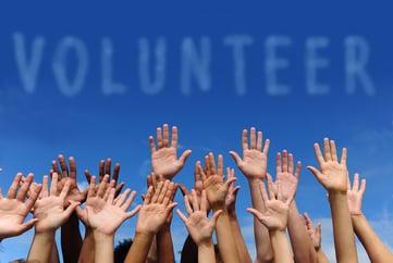 Have Plenty of Volunteers Onhand